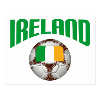 Ireland Soccer Football Postcard