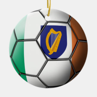 Ireland Soccer Ornament