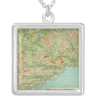 Ireland southern section silver plated necklace