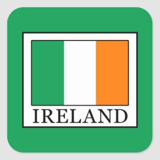 Ireland Square Sticker