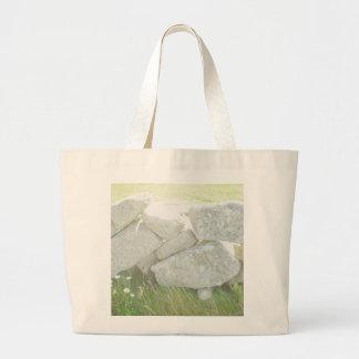 Ireland Stones Large Tote Bag