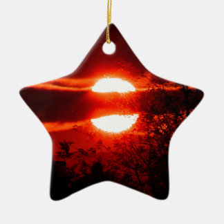 Ireland Sunrise Christmas Ornament
