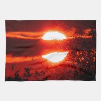 Ireland Sunrise Tea Towel