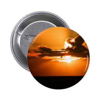 Ireland Sunset 6 Cm Round Badge