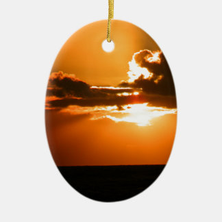 Ireland Sunset Christmas Ornament