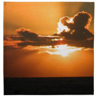 Ireland Sunset Napkin