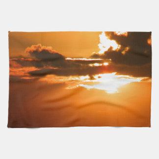 Ireland Sunset Tea Towel
