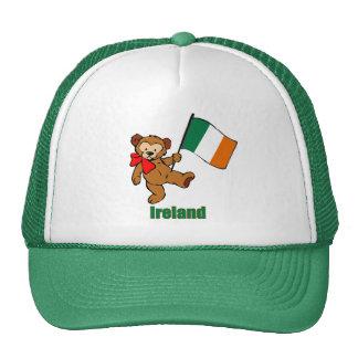 Ireland Teddy Bear  Hat