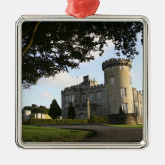 Ireland, the Dromoland Castle side entrance. Christmas Ornament