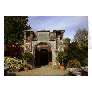 Ireland, the Dromoland Castle Walled Garden Card