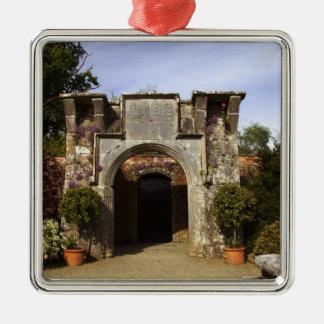Ireland, the Dromoland Castle Walled Garden Christmas Ornament