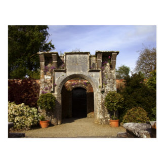Ireland, the Dromoland Castle Walled Garden Postcard