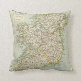 Ireland Throw Pillow