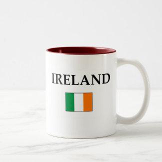 Ireland Two-Tone Coffee Mug