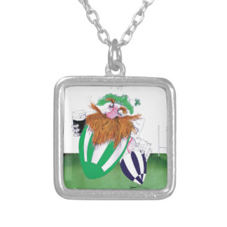 ireland v scotland rugby balls tony fernandes silver plated necklace
