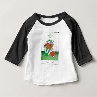 ireland v wales rugby balls tony fernandes baby T-Shirt