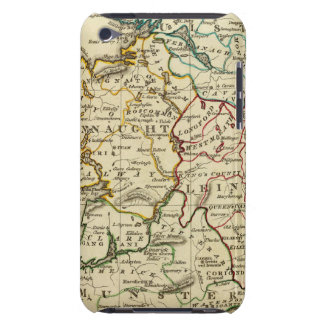 Ireland with boundaries outlined iPod touch Case-Mate case