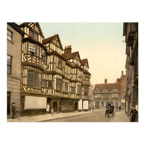 Ireland's Mansion Shrewsbury, Shropshire, England Postcards