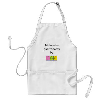 Irena periodic table name apron