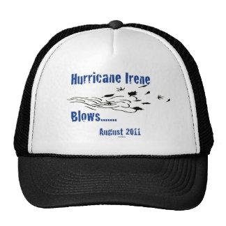 Irene Blows Hat