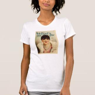 Irene Bordoni 1931 magazine cover portrait Tshirts