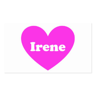 Irene Business Card