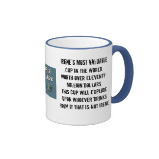IRENE'S CUP fixed Ringer Mug
