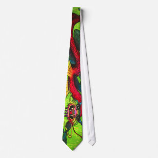 Iridescent Dragon tie