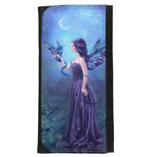 Iridescent Fairy & Dragon Art Large Wallet