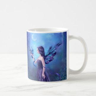 Iridescent Fairy & Dragon Art Mug