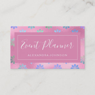 Iridescent business cards business card printing zazzle uk iridescent foil rose gold pastel floral business card colourmoves