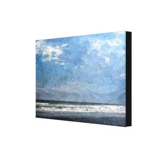 Iridescent Isle of Palms Canvas Print