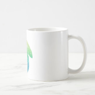 Iridescent Mandala Turtle Coffee Mug