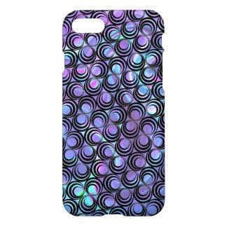 Iridescent Opalescent Spiral Pattern - Custom iPhone 8/7 Case