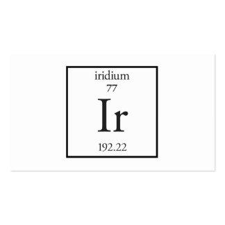 Iridium Pack Of Standard Business Cards