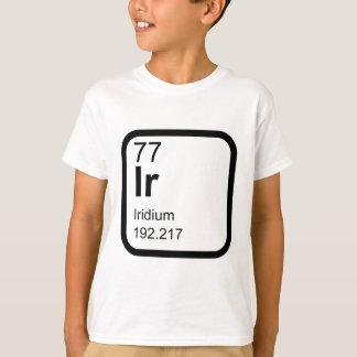 Iridium - Periodic Table science design T-Shirt