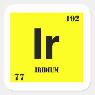 Iridium Square Sticker