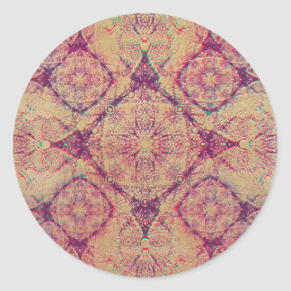IridiumPurple Round Sticker