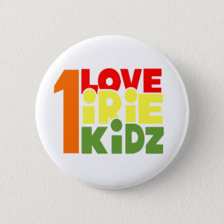 IRIE KIDZ - 1 Love Irie Kidz Button