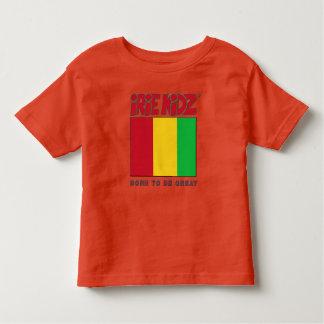 IRIE KIDZ® Red, Gold & Green Flag Toddler T-Shirt