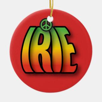 IRIE Peace Christmas Ornament