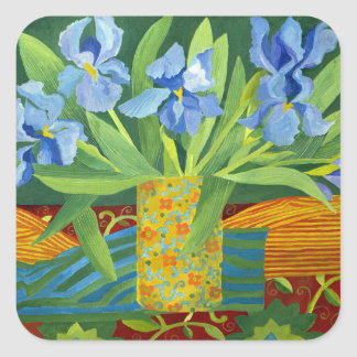 Iris 2014 square sticker