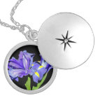 Iris 8 silver plated necklace