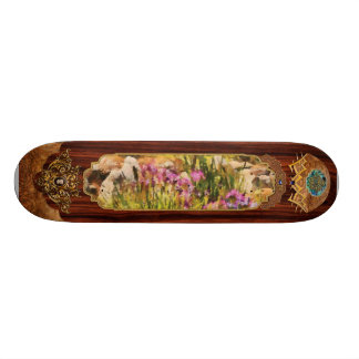 Iris - A Tribute to Monet Skate Board