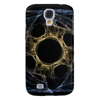 Iris Abstract Art Fractal Galaxy S4 Case