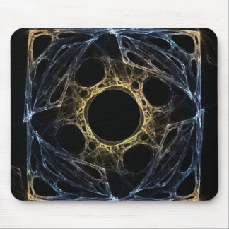 Iris Abstract Art Fractal Mouse Pad