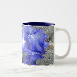Iris After the Rain Two-Tone Mug