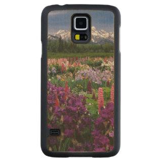 Iris and Lupine garden and Teton Range, Maple Galaxy S5 Case