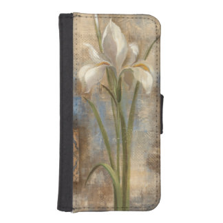 Iris and Tile iPhone SE/5/5s Wallet Case