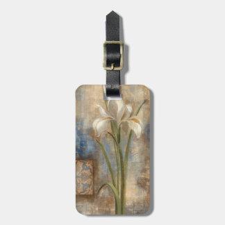 Iris and Tile Luggage Tag